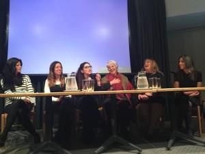 Picture: Estee Stern, Adina Roth, Rabbi Margolis, Marlene Bethlehem, Gila Joffee and Hila Timor Ashur