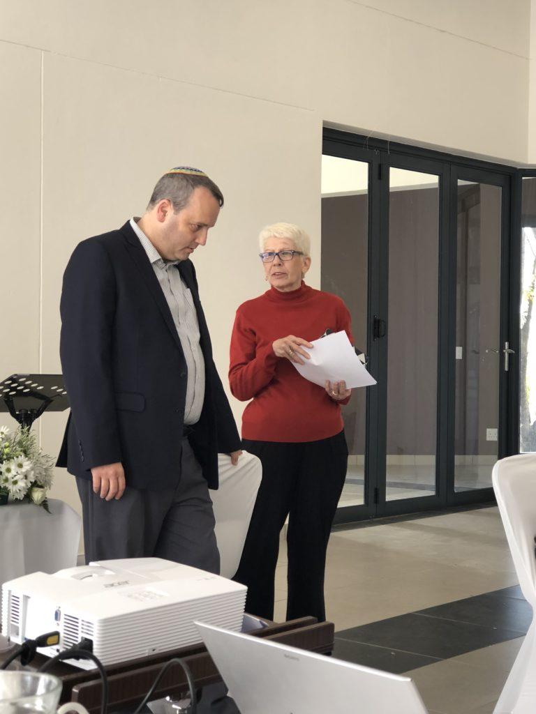 Celebrating 85 years of Progressive Judaism. Bet David had the honour to host the SAUPJ Biennial conference last Shabbat, welcoming the Progressive Jewish Community from SA. Rabbi Gilad Kariv (IMPJ) and Monica Solomon