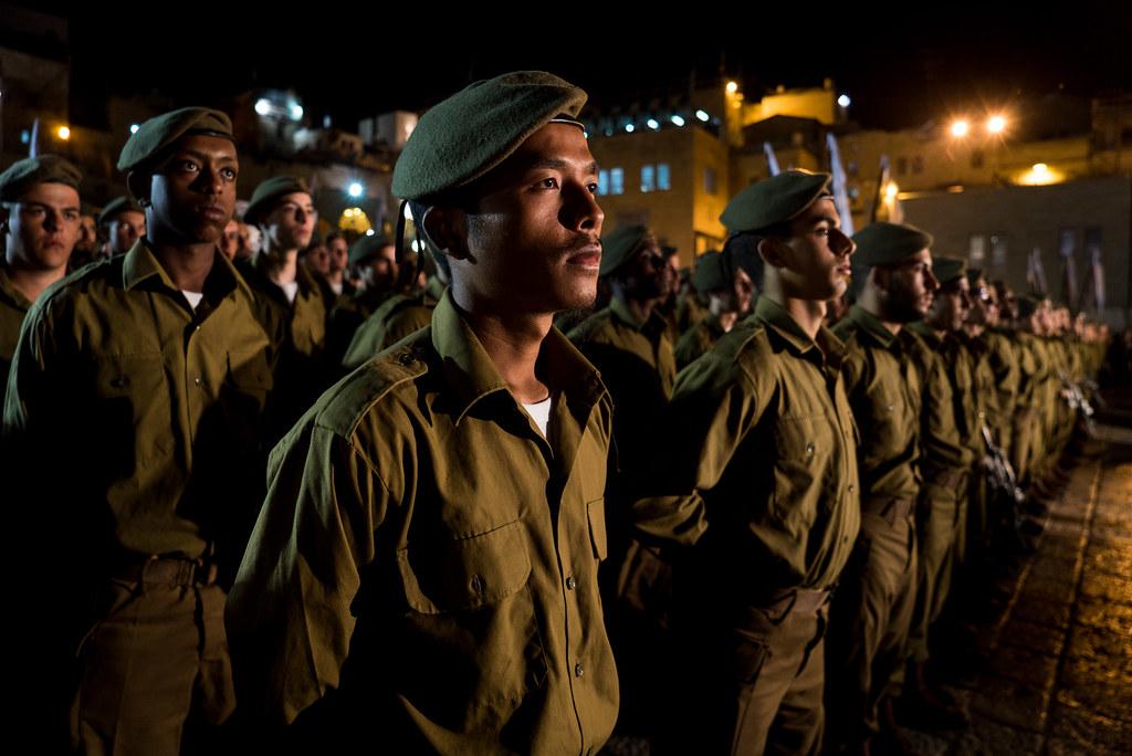 Kfir Brigade Swearing-In Ceremony - (c) IDF 2015